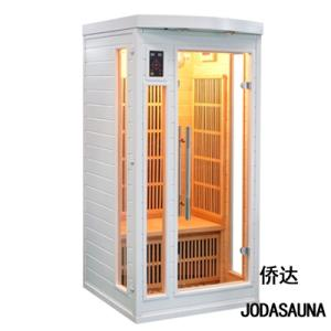 Wholesale infrared sauna: Joda Sauna 1 Person Solid Wood Sauna Far Infrared Sauna Cabin