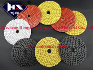 Wholesale dry polishing pads: Premium Dry & Wet Metal Bond Polishing Pad for Concrete/Granite/Hard Stone