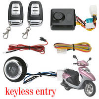 Sell PKE One Button Start motorcycle alarm M444S-A