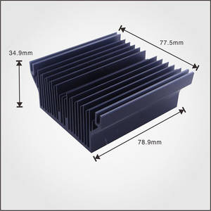 Wholesale aluminum extrusion profile: High End Aluminum Extrusion Heatsink Aluminum Profile Square Heatsink,Mold Is Available