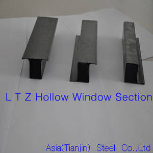 Wholesale Other Steel Profiles: L T Z Hollow Window Section