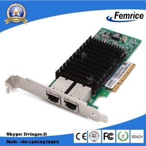 Wholesale partition board: Intel X540 Chip 10G Dual Port RJ-45 Interface Card PCI Express X8 Server Adapter 10G Server NIC
