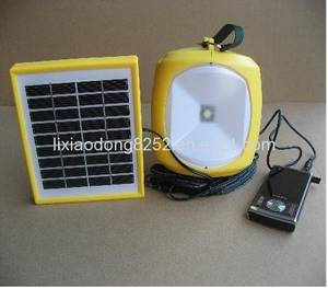 Wholesale camping lantern: Solar Camping Lantern with Mobile Phone Charger Function