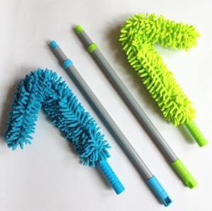 Wholesale cleaning duster: Chenille Flexible Extendable Handle Duster for Car and Home Cleaning Tools