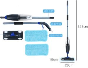 Wholesale cleaning floor mop: High Quality Handle Operate Flat Spray MOP for Floor Cleaning