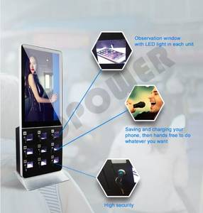 Wholesale 42 inch network android: 42 Inch LCD Screen Multi Function Phone Charging Kiosk Advertising Equipment
