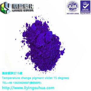 Wholesale masterbatch extruder: Cold Color Changing Powder Thermochromic Powder Water Color Changing Powder