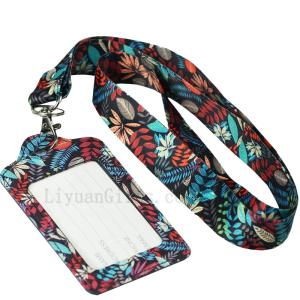 Wholesale dyeing: Cheap Custom Neck Printed Ribbon Polyester Personalized Dye Sublimation Lanyard