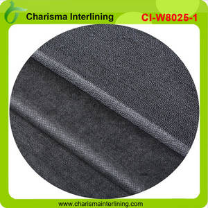 Wholesale woven interlining: PA Coated Non Woven Fusible Interlining Fabric  for Suit, Uniform