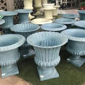 Wholesale decoration flower pot: Garden Decoration, Garden Decoration Aluminum Casting, Cast Aluminum Garden Decoration