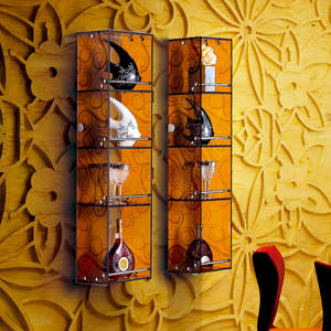 Wholesale Bathroom Shelves: New Design Space Saver Corner Glass Bathroom Shelf