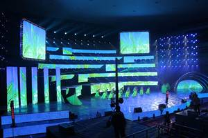 Wholesale led curtain: Outdoor Curtain LED DISPLAY