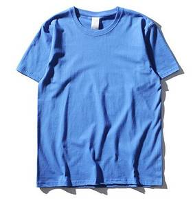 Wholesale t-shirt: Round Neck Cotton Blank T-shirts
