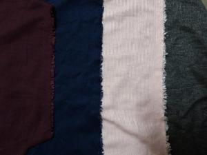 Wholesale knitted: Circular Knitted Fabric - Rayon(30'S) Span Corduroy( * Fraise )