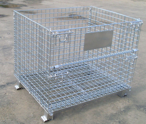 Famous Brand Warehouse Storage Small Wire Mesh Containers