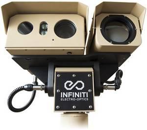 Wholesale flir: Long Distance Thermal Infrared HD Day Night Vision Laser Infrared IR Surveillance Camera Gyro PTZ
