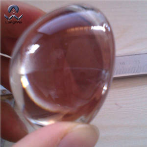 Wholesale led lens: Diameter 50mm Height 25mm Aspherical Glass Lens for LED Lamps