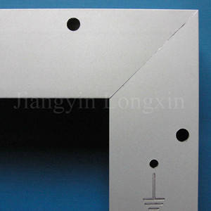 Wholesale frame: Aluminum Solar Panel Frame Silver Anoized with Machining Available