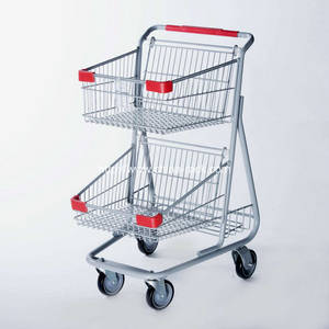 Wholesale shopping trolley: Canada Style Supermarket Shopping Trolley Cart