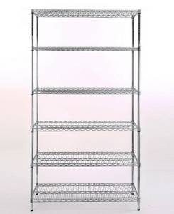 Wholesale Other Storage & Organization: 6 Layers Chrome Wire Shelving Storage Rack/Holder OW-WD01