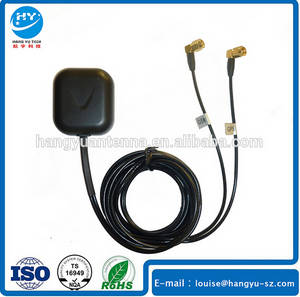 Wholesale gsm gps antenna: High Gain Magnet GPS GSM Combined Active Antenna GPS Tracker for Car