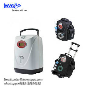 Wholesale oxygen concentrator: Lovego Newest Portable Oxygen Concentrator LG102 Plus with Both Continuous Flow and Pulse Flow