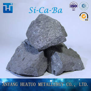 Wholesale for steelmaking: SiCaBa Alloy, Fe Si Ca Ba Alloy As Deoxidizer for Steelmaking