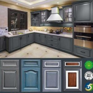 Wholesale wooden kitchen: Wooden Kitchen Base Cabinet LW-EN003