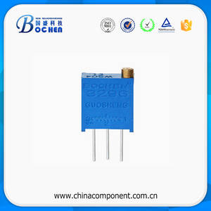 Wholesale trimmer: 3296 Ceramic Capacitor 3296W Multi Turn Cermet Trimmer Potentiometer B503 Potentiometer