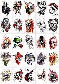 Wholesale Tattoo Sticker: TATTOO STICKER for Vending Machine Used