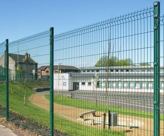 Welded Mesh Fence Welded Wire Fencing Rigid Panel Fence