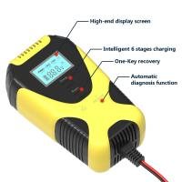 New Item 2A/4A 6/12V Double Voltage Strong Pluse Repair Car Battery Charger