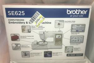 Wholesale Apparel Machinery: Brother SE625 Computerized Sewing and Embroidery Machine