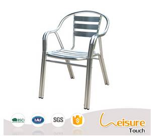 Wholesale Patio Benches/Chairs: Shiny Aluminum Chair