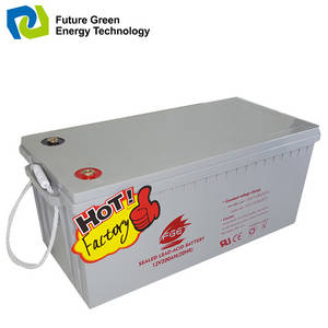 Wholesale sealed battery: 12V 200AH Deep Cycle VRLA Solar Sealed Lead Acid Battery
