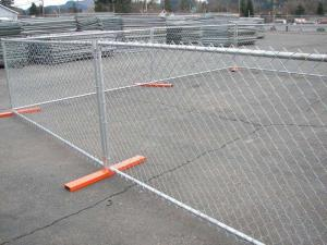 Wholesale chain link temporary fence: Steel Wire Mesh Temporary Chain Link Garden Security Fence