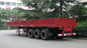 Wholesale cargo trailer: Tri-axle Cargo Semi-trailer ST9403