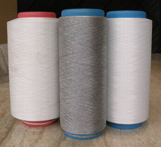 Sell Stainless Steel Wire Covered Yarn Polyester/Cotton Blended Yarn