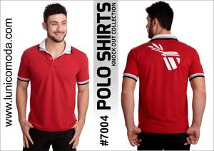 Wholesale double collar shirts: Polo Shirt with Double Collar