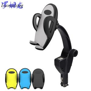 Wholesale chargers: Factory Directly Wholesale Double USB Interface Car Charger Smartphone Car Holders