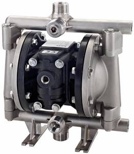 Wholesale diaphragm pump: Double Diaphragm Pump DMP 1/2'' Stainless Steel Metallic