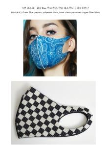 Wholesale far infrared ray: Copper Mask (Anti-Bacterial Fiber, Personal Protective Equipment (PPE), Fashionable)