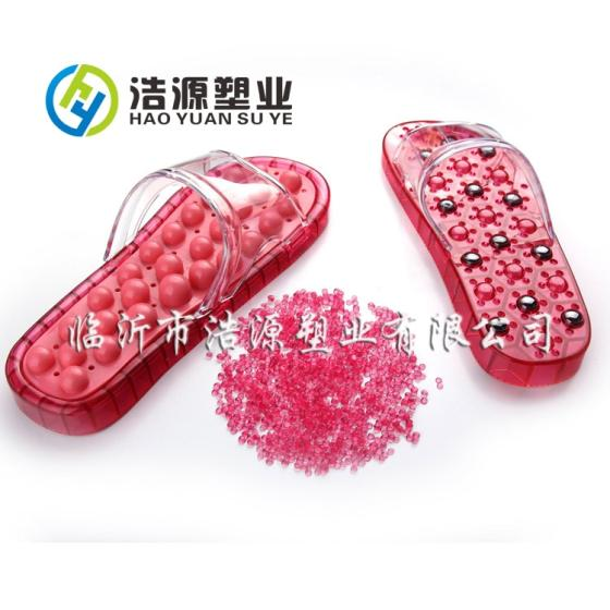 Sell Crystal PVC compounds/Soft PVC  granules/Colorful PVC for slipper
