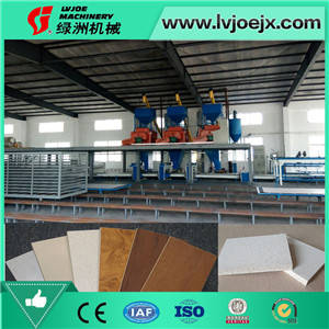 Sell Full-automatic glass magnesium production line fiber cement board
