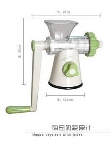Wholesale fruit juicer: Crank Juicer Manual Fruit Juice Extractor Squeezer