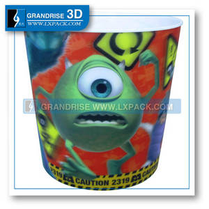 Wholesale Other Plastic Products: China 3D Lenticular Cup Printing 3D Lenticular Picture Printing