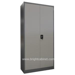 Wholesale file cabinet: China Factory Cheap Metal Filing Cabinet Swing Door Full Height 4 Adjustable Shelf Cupboard Steel Kd