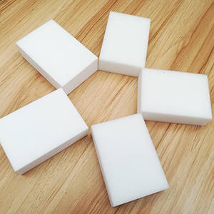 Wholesale handbag mirror: High Quality Multifunction Cleaning Magic Eraser Melamine Foam Sponge