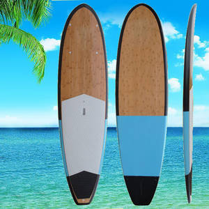 Wholesale Sport Product Agents: Best Price SUP Epoxy Fiberglass Stand Up Bamboo Paddle Board