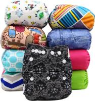 Washable Baby Cloth Diaper Reusable Babies Diapers Wholesale Baby Cloth Diapers.